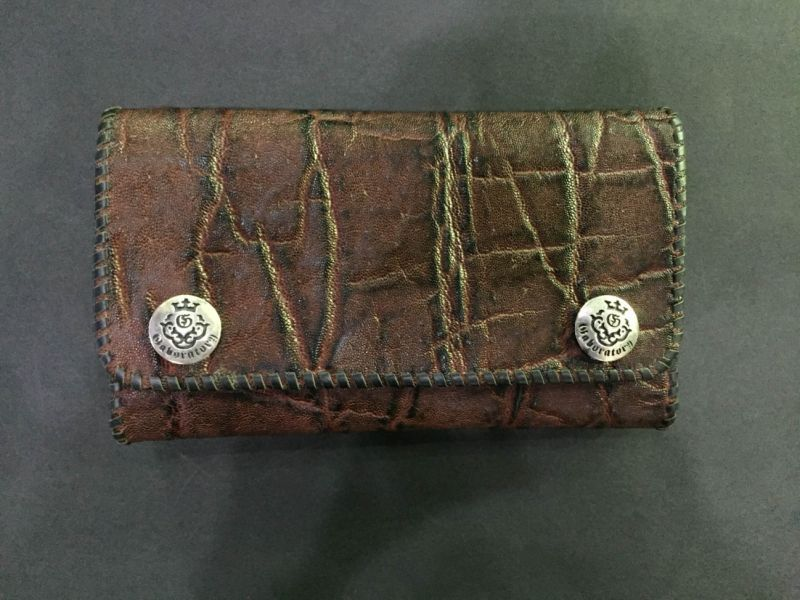 画像4: Elephant Long Wallet (Bark Vintage)