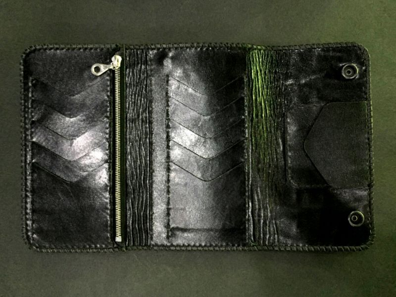 画像2: Elephant Long Wallet (Bark Vintage)