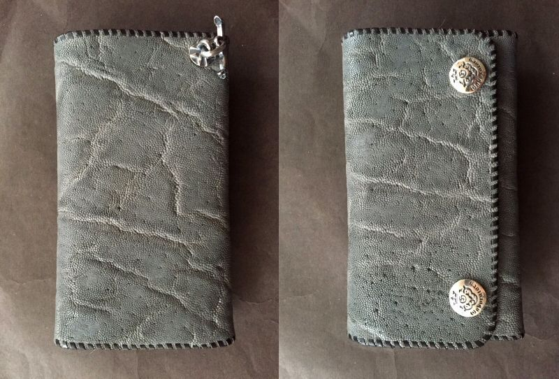 画像3: Elephant Plain Long Wallet (Gray)