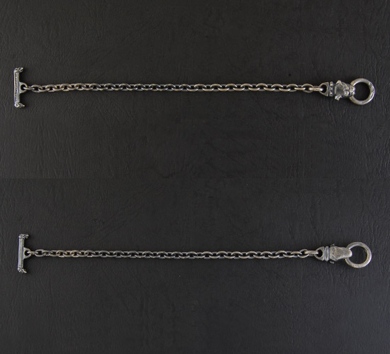 画像5: Quarter Old Bulldog Quarter Chain Bracelet