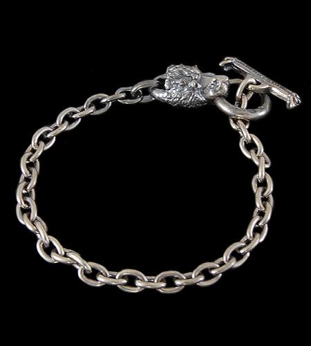 画像1: Quarter Lion Quarter Chain Bracelet
