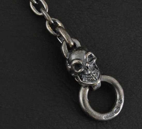画像5: Quarter Skull Quarter Chain Bracelet