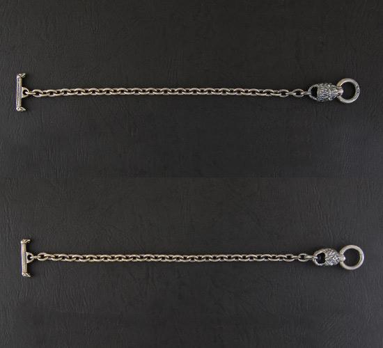 画像2: Quarter Lion Quarter Chain Bracelet