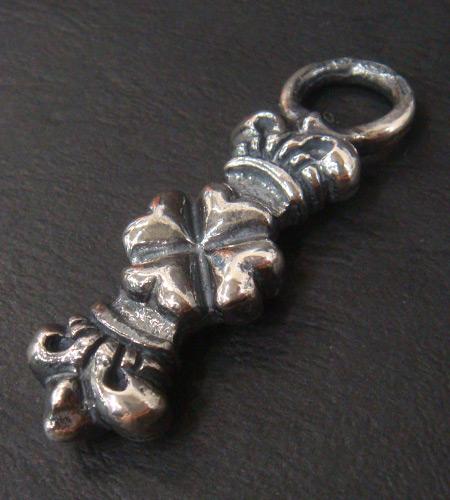 画像4: Half 4 Heart Crown Pendant