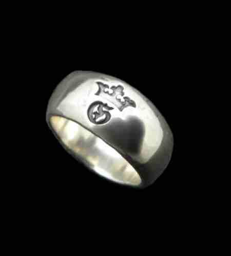 画像1: Large Smooth H.W.O Ring