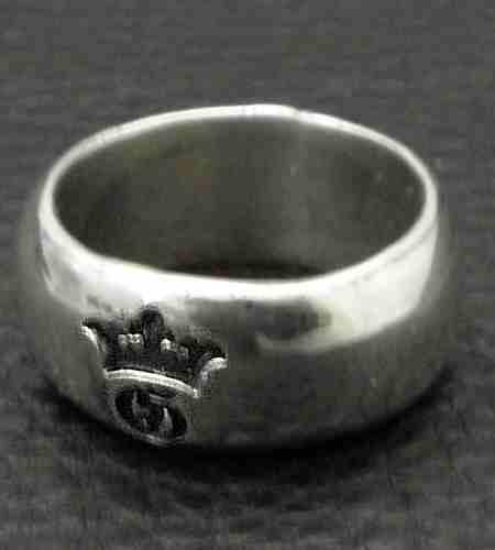 画像2: Large Smooth H.W.O Ring
