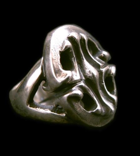 画像1: Classic Sculpted Oval Ring