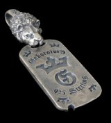 Lion With H.W.O Dog Tag