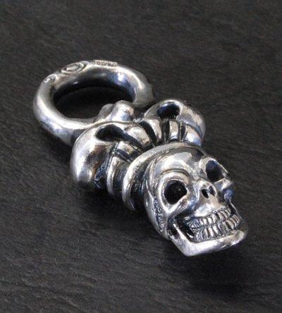 画像3: Skull & Crown Pendant