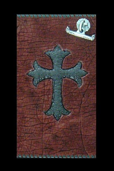 画像2: Frog Cross Inlay Hippo Long Wallet