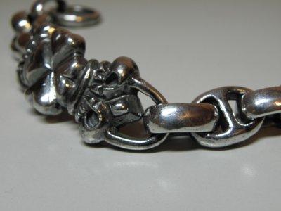 画像3: 4Heart ID with H.W.O&Anchor Links Bracelet