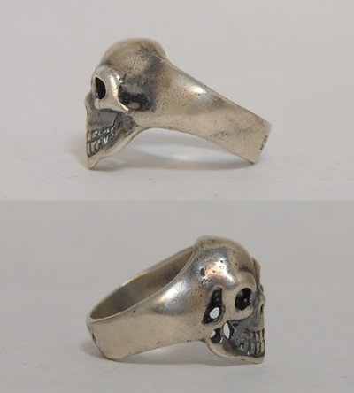 画像5: Old Single Skull Ring