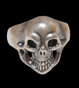 Old Single Skull Ring