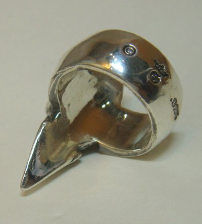 画像4: Skull with Spike Ring