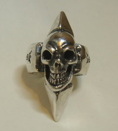 画像2: Skull with Spike Ring