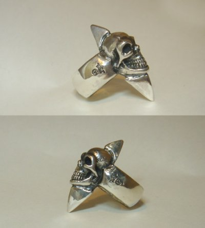 画像5: Skull with Spike Ring