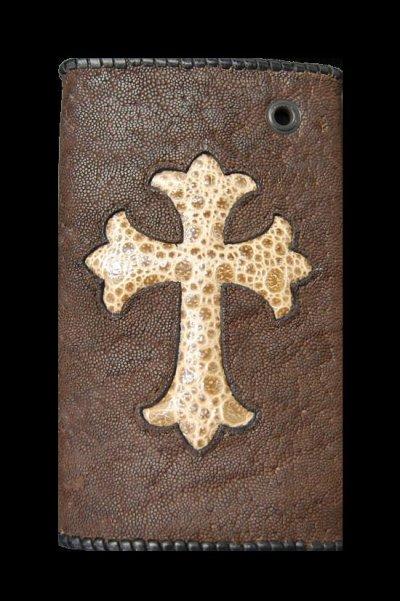 画像2: Frog Traditional Cross Inlay Elephant Long Wallet