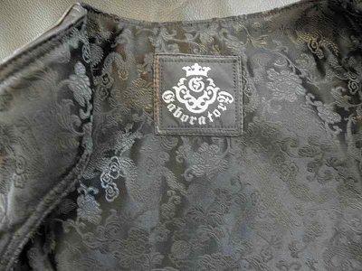 画像5: Gaboratory Tailored Leather Vest (Atelier mark art work)