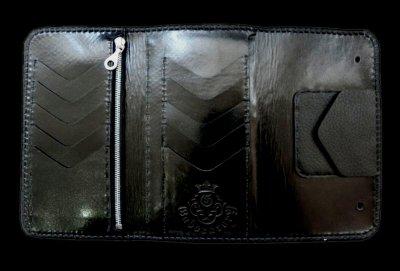 画像2: Stingray Cross Inlay Buffalo Long Wallet