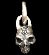 Single Skull Without Jaw Pendant