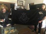 Atelier Mark Black On Black Beach Towel  ※数量限定 再入荷!!
