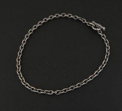 画像3: 7Chain & Half Skull T-bar Necklace