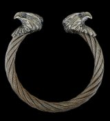 Eagle Cable Wire Bangle