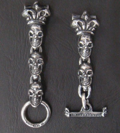 画像2: Skull With Crown Watch Bands