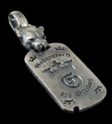 Panther With H.W.O Dog Tag