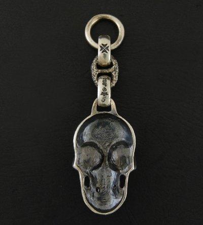 画像3: Giant Skull With Chiseled Anchor Wallet Hanger
