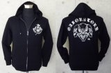 Triple skull Hooded Jacket
