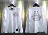 Atelier mark V-neck T-Shirt [White]