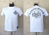 Triple skull T-shirt [White]