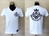 Atelier mark V-neck T-shirt [White]