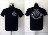 Atelier mark T-shirt [Black/Outline]