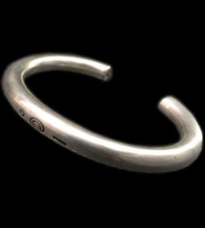 画像1: Wire O-Ring Bangle (7.5mm)