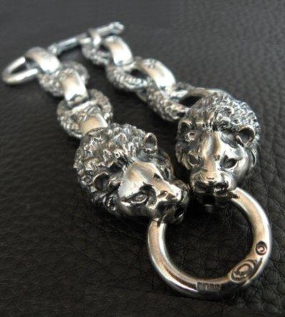 画像2: 2Lions With H.W.O & Chiseled Anchor Links Bracelet