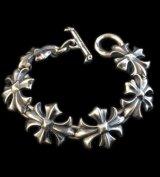 Gothic Cross Links Bracelet 1/4