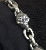Alien & Chain Link Bracelet