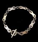 Bike Chain Plate Links Bracelet (Small)