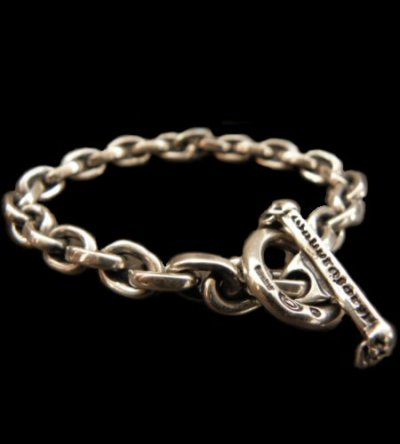 画像1: Half Small Oval Chain Bracelet