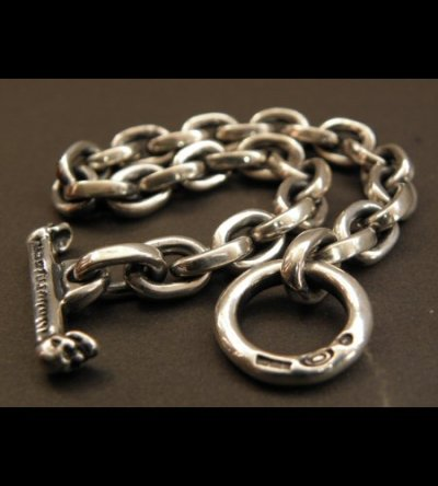 画像2: Half Small Oval Chain Bracelet