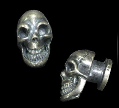 画像1: Skull Screw Button