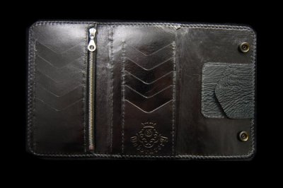 画像4: Stingray G&Crown Inlay Shark Long Wallet
