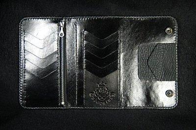 画像5: Stingray Cross Inlay Shark Long Wallet