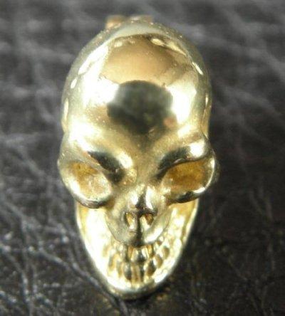 画像2: 18k Gold Twelve Small Skull Pierce
