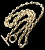 14k Gold Anchor Chain L-type