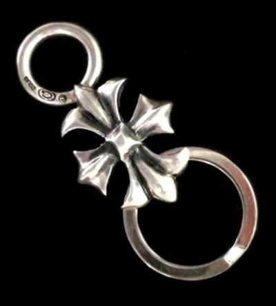 画像1: Gothic Cross Loop Hook Key Keeper