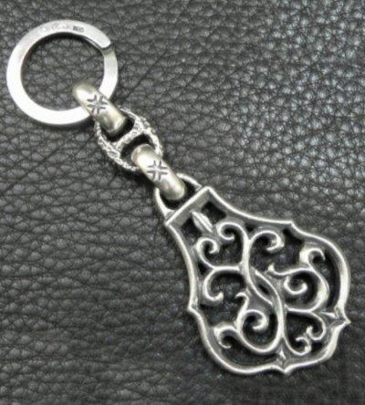 画像2: Half Size Arabesque With H.W.O Maltese Cross H.W.O, Chiseled Anchor Chain & Key Ring