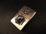 G Crown & Iron Cross Skull On Lighter